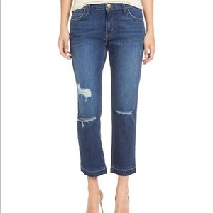 Current Elliot Cropped Straight Jeans Size 26